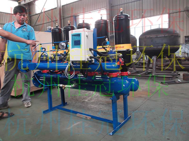 全自动盘式过滤器_2寸5单元全自动盘式过滤器--杭州桂冠环保科技有限公司